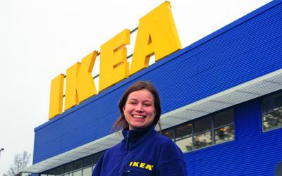 IKEA Gävle valde brandlarmet SecuriFire