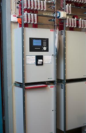 Hotellet är utrustat med fyra SecuriFire brandlarmcentraler.