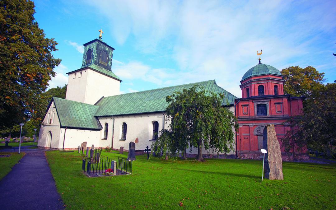 Trådlöst brandlarm skyddar anrik kyrka