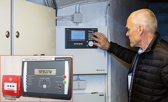 TMP Alarm fick hjälp av SecuriFires produktsupport med att mäta in signalnivåerna mellan de trådlösa detektorerna och mottagarna.