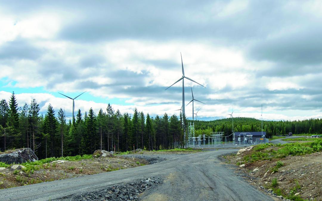 Leverans av säkerhetssystem till vindparker