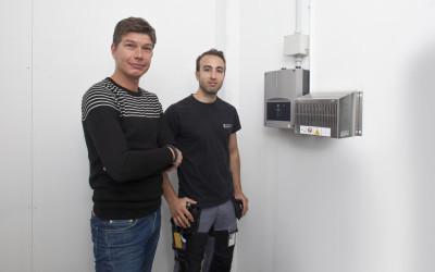 Lägre servicekostnader för SISAB med aspirerande rökdetektorer