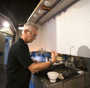 Testerna sköttes av Peter Wissberg, brandmästare Storstockholms Brandförsvar.